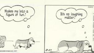 Part of an original strip created by Alex Graham