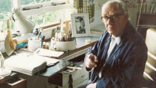 Alex Graham in his Sussex studio