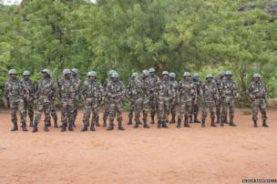 Mailan army with new equipment
