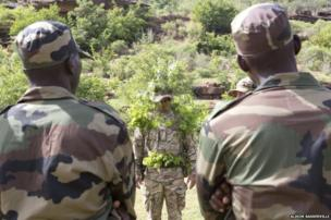 Camouflage and concealment instruction