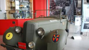 Humber staff car used by Field Marshall Viscount Montgomery