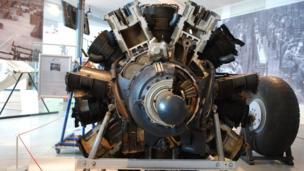 British Hercules aero engine