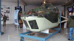 Bristol Blenheim cockpit