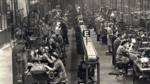 1941 Rootes shadow factory World War II