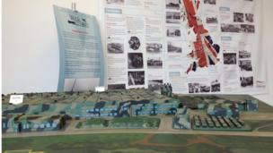 Model of the Rover Shadow factory at Solihull