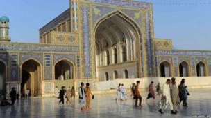 Mosque in Herat
