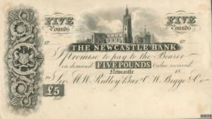 Newcastle banknote