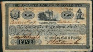 Lancaster banknote