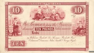 Leeds banknote