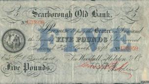 Scarborough banknote