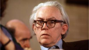 Michael Foot at the Labour Party Conference