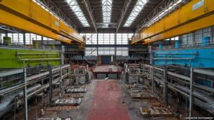 Inside Inverkip Power Station