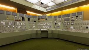 Control centre at Inverkip Power Station
