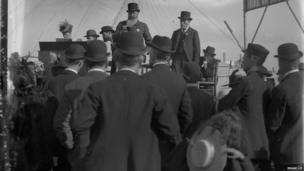 A sermon delivered at a Temperance festival, Newcastle Town Moor, Edgar Lee, c 1892