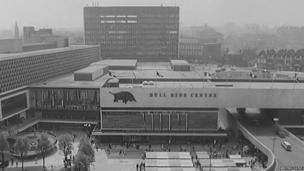 Bull Ring Centre in 1964