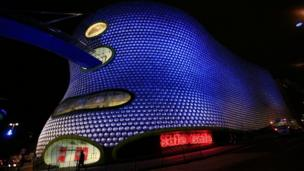 Selfridges and Birmingham Bullring shopping centre