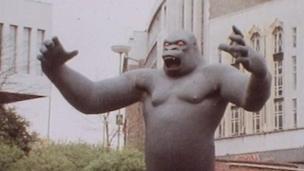 Birmingham's King Kong statue