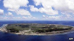Island of Nauru (file image)