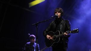 Jake Bugg on stage