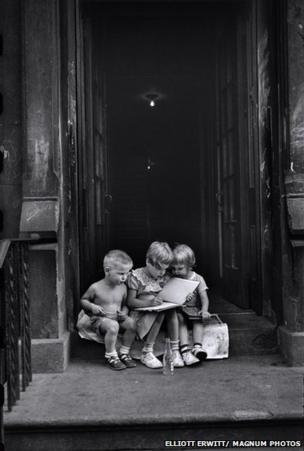 Children in New York City, 1950