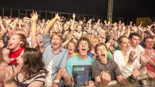 HebCelt festival crowd