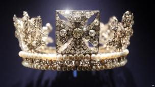 The Diamond Diadem, made in 1820