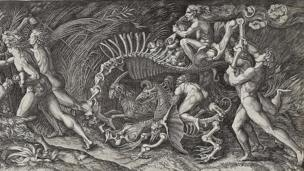 The Witches' Rout (The Carcass) by Agostino Veneziano