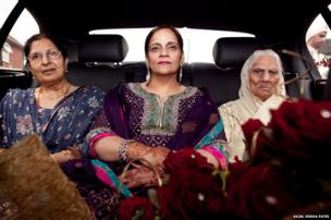 British Indian family