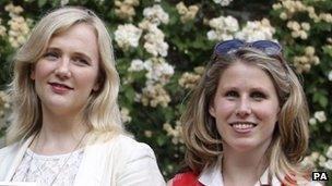 Stella Creasy MP (left) and Caroline Criado-Perez