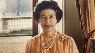 Her Majesty the Queen in 1983