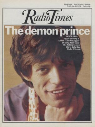 Mick Jagger, 7 April 1973