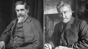 Flinders Petrie and Benjamin Harrison