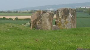 View of Coldrum Longbarrow (2013)