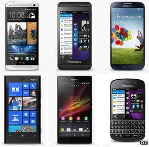 4G compatible smartphones