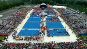 Belfast is hosting the opening ceremony of the World Police and Fire Games