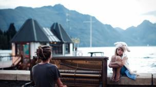 """""""Piano play at sunset"""""""
