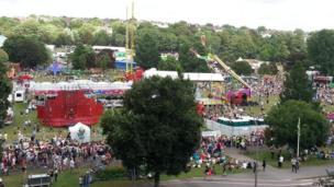 Preston Park at Brighton Pride.