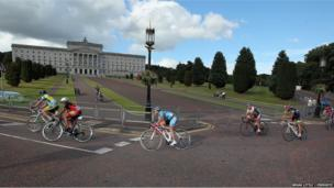 The races took in the entire estate, including the roads surrounding Parliament Buildings.