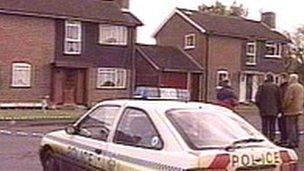 The scene of the murder