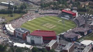 England v Australia at Old Trafford
