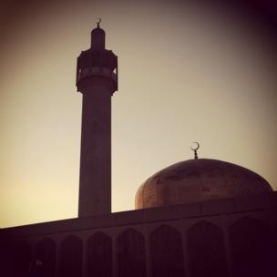The Islamic Centre in Regent's Park at dawn. Photo: Imran Rasool