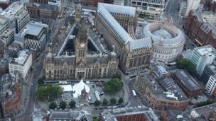 Manchester's Albert Square