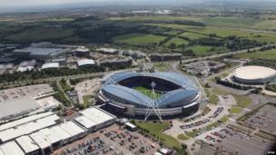 Reebok Stadium in Bolton