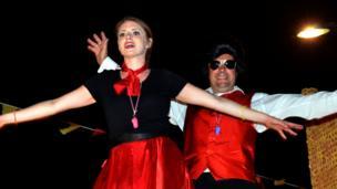 Trinity dancers