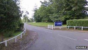 Haughley Park Image Caption The 2 Sisters