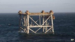 Platforms installed as £4 5bn Clair oil project proceeds