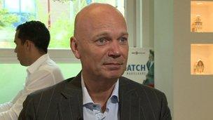 Dutch estate agent Dennis Stello