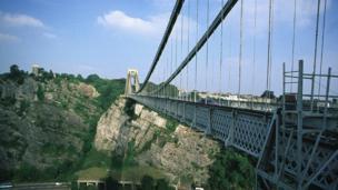 Clifton Suspension Bridge in 2007