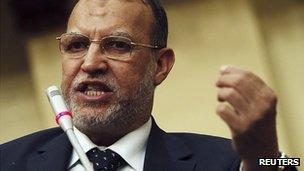 Isam al-Iryan, deputy head of the Muslim Brotherhood's Freedom and Justice Party