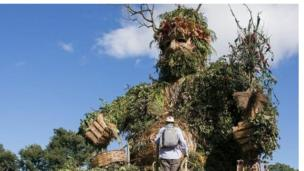 The 30ft Green Man
